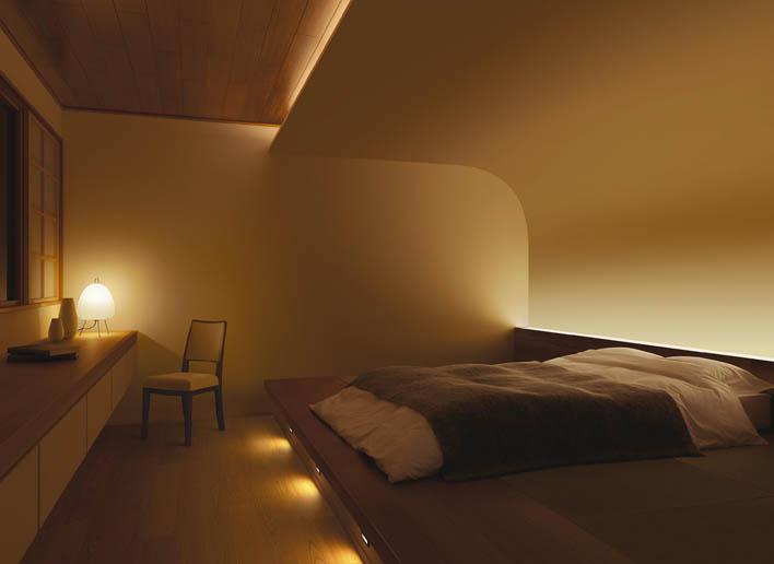 寝室間接照明