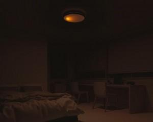 寝るときの明るさ豆電球