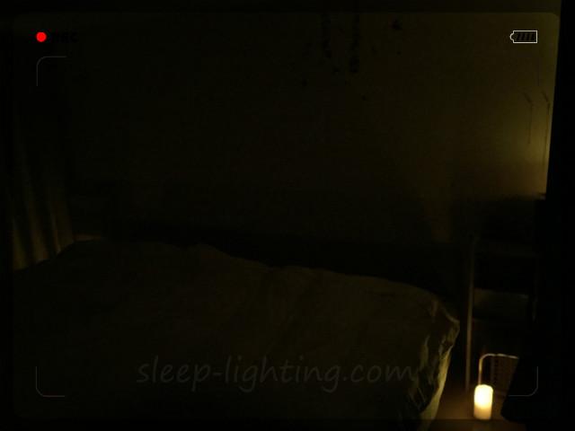 寝る時の明かり LEDキャンドル